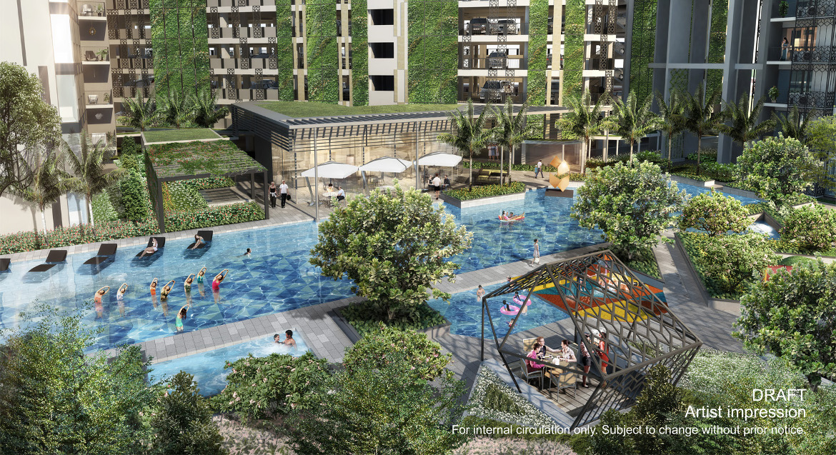 GEM Residences Pool | GEM Residences Floor Plans