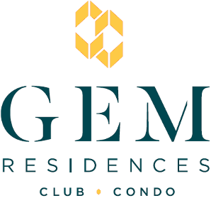 The GEM Residences Logo